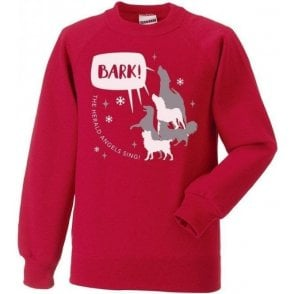 Bark The Herald Angels Sing Christmas Jumper