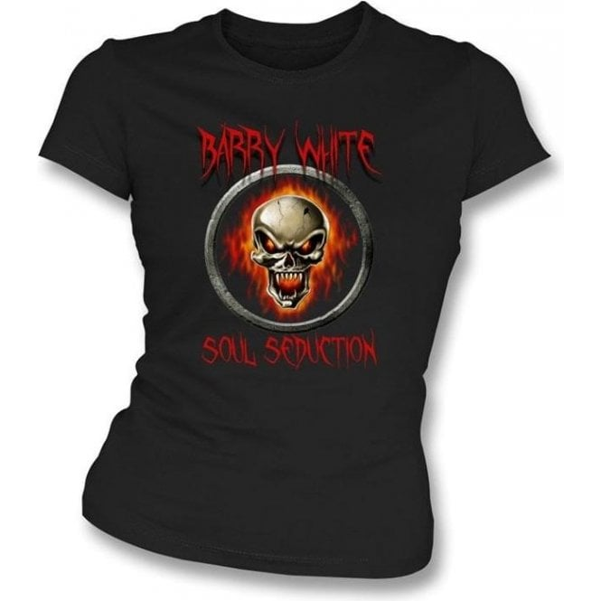 "Barry White ""Soul Seduction"" Womens Slim Fit T-Shirt"