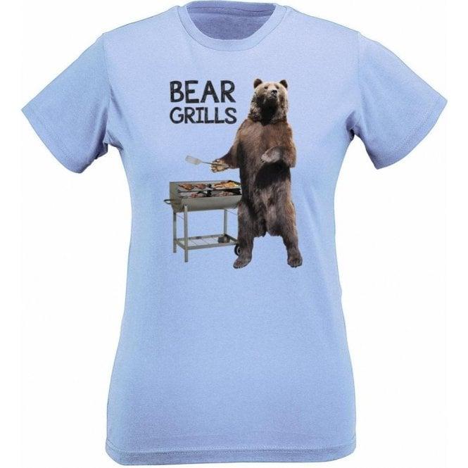 Bear Grills Womens Slim Fit T-Shirt