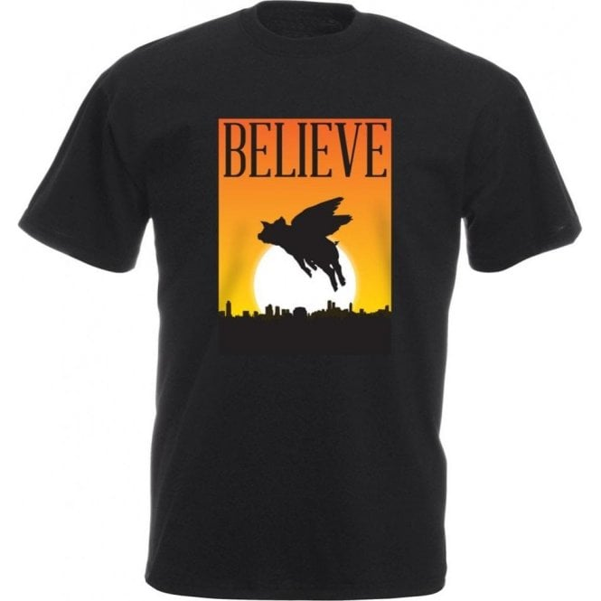 Believe: Flying Pigs T-Shirt