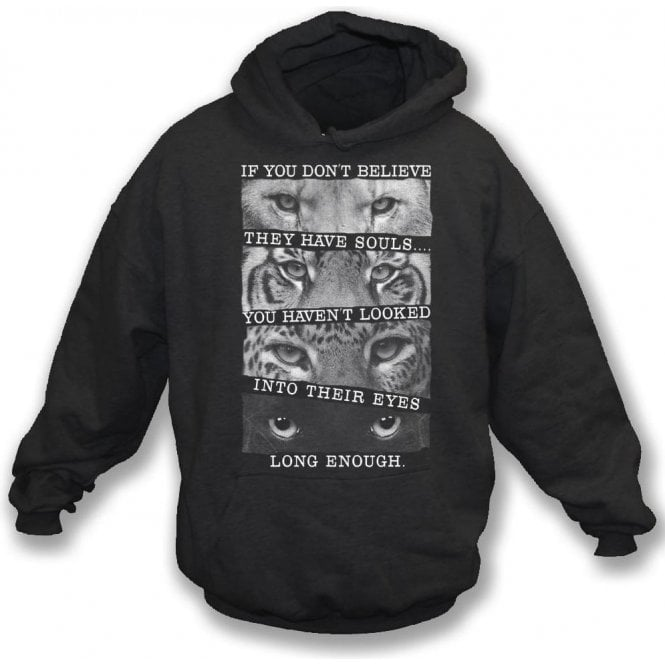 Big Cats Kids Hooded Sweatshirt