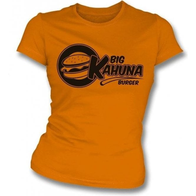 Big Kahuna Burger (Inspired by Pulp Fiction) Womens Slim-Fit T-Shirt