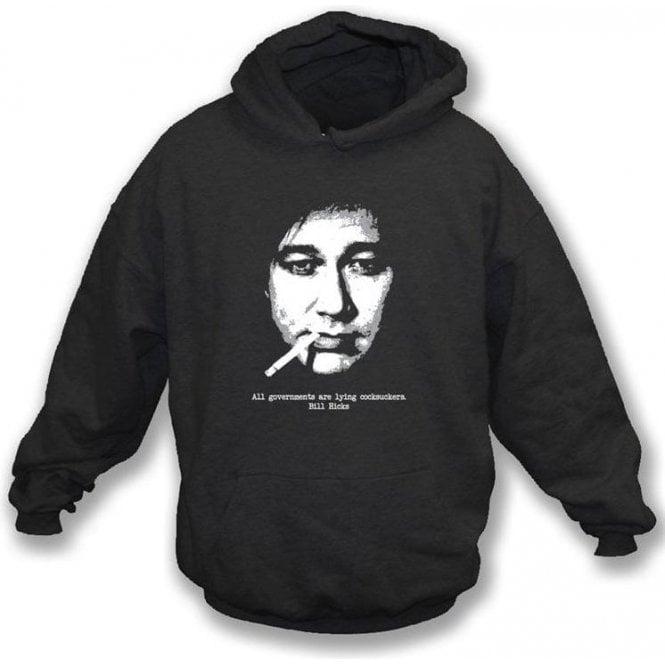 Bill Hicks All Governments Hooded Sweatshirt
