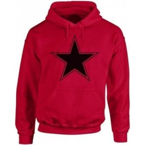 Black Star (As Worn By Paul Weller, The Jam) Hooded Sweatshirt
