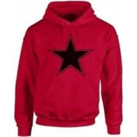 Black Star (As Worn By Paul Weller, The Jam) Kids Hooded Sweatshirt