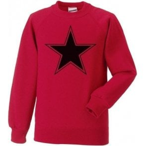Black Star (As Worn By Paul Weller, The Jam) Sweatshirt