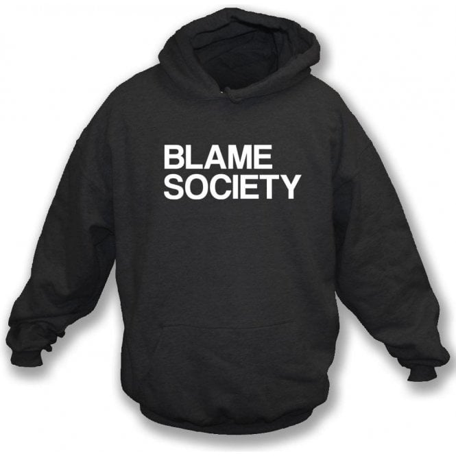 Blame Society (As Worn by Jay-Z) Hooded Sweatshirt