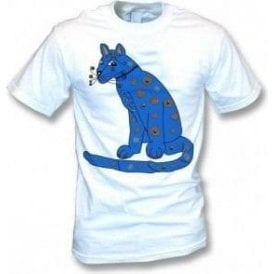 Blue Cat (As Worn By Agnetha Faltskog, ABBA) Kids T-Shirt