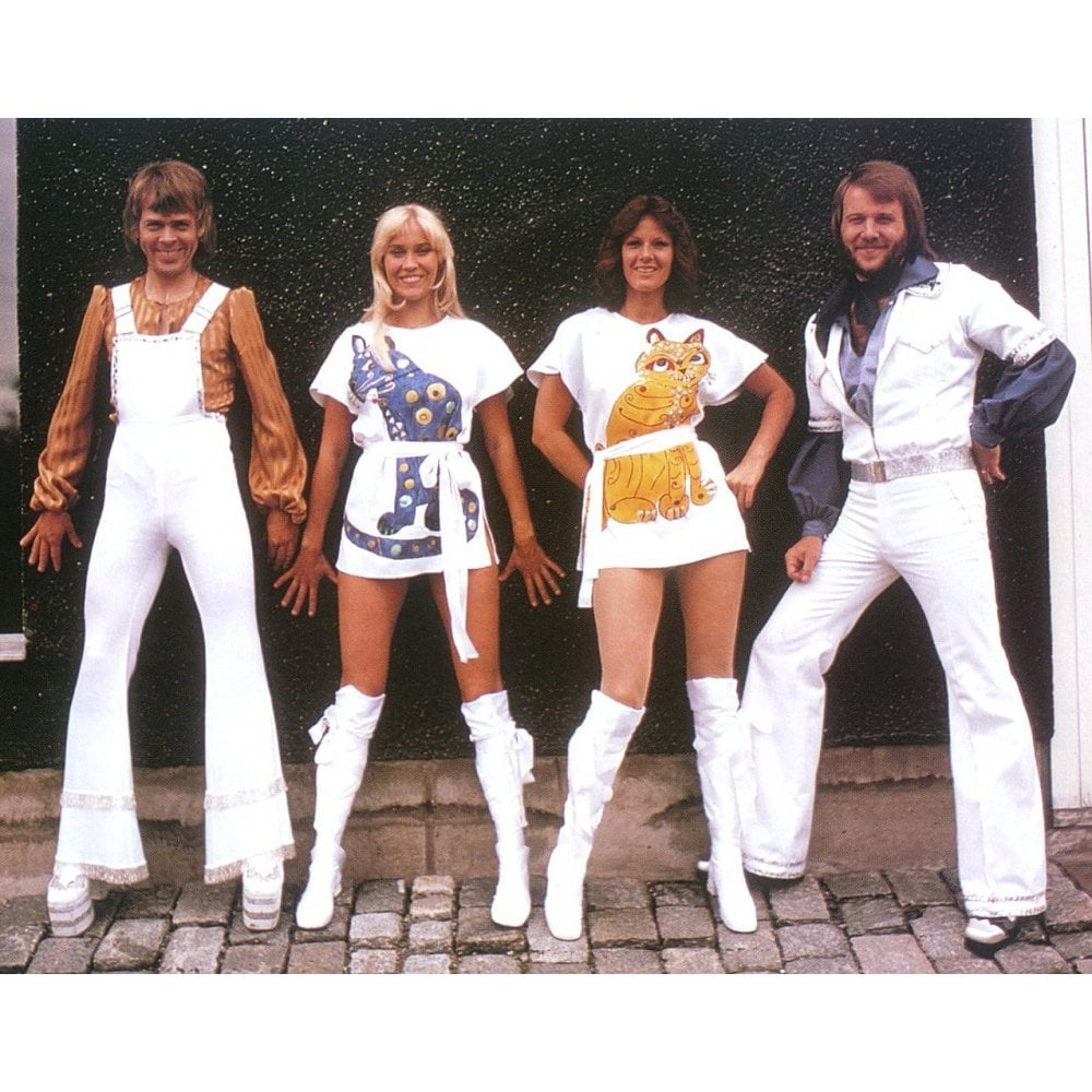 1bc2deb963b89 Blue Cat (As Worn By Agnetha Faltskog, ABBA) T-Shirt - from ...