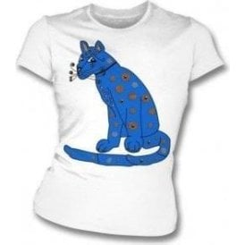 Blue Cat (As Worn By Agnetha Faltskog, ABBA) Womens Slim Fit T-Shirt