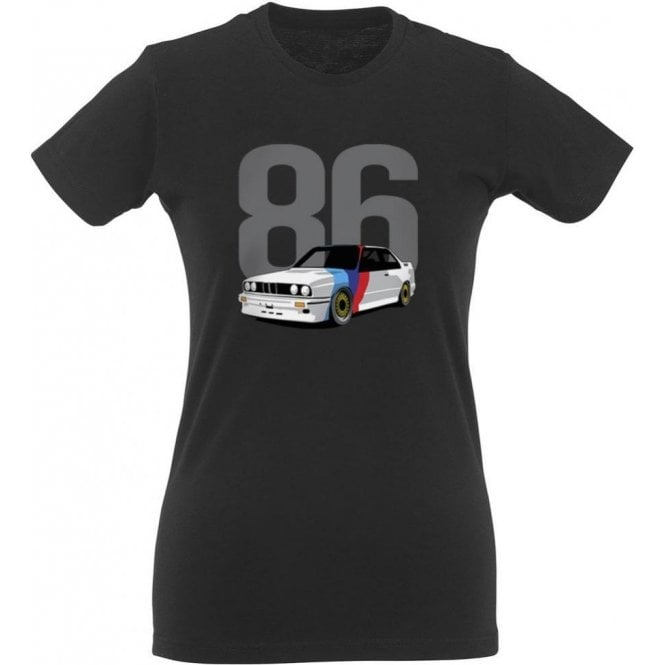 BMW M3 (1986) Womens Slim Fit T-Shirt