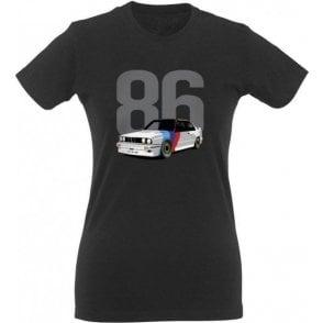 BMW M3 (1986) Womens Slim Fit T-Shirt