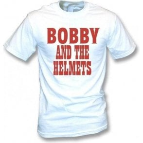 Bobby And The Helmets (As Worn By Robert Plant, Led Zeppelin) T-Shirt