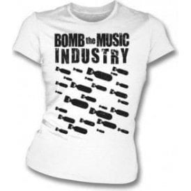 Bomb The Music Industry Womens Slim Fit T-shirt