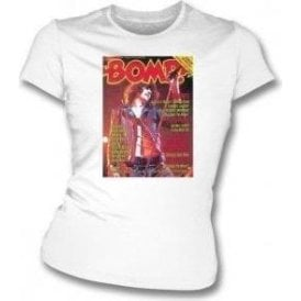 Bomp Magazine - The Ramones Womens Slim Fit T-Shirt