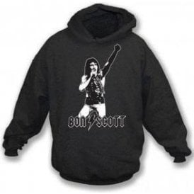 Bon Scott - Tribute Hooded Sweatshirt