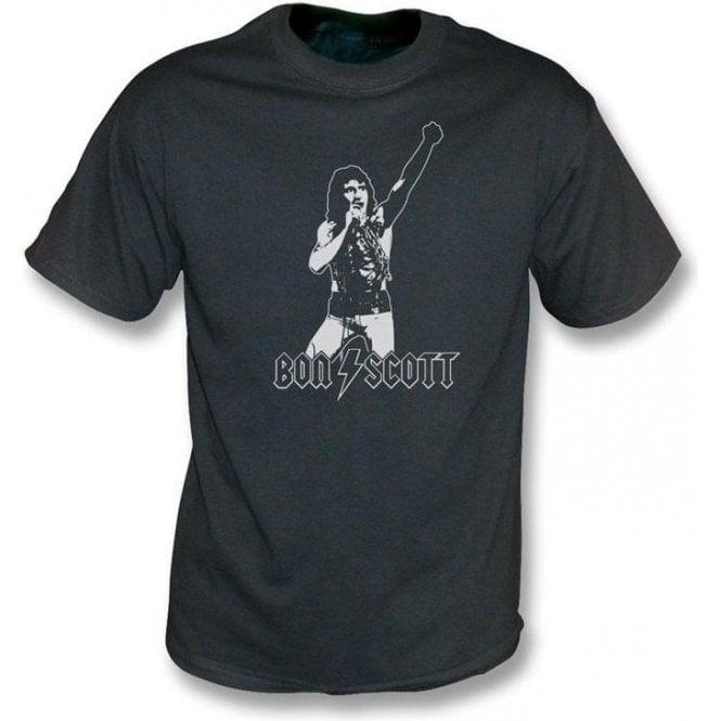 Bon Scott - Tribute vintage wash T-shirt