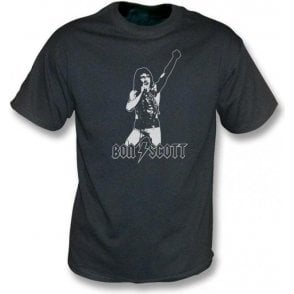 Bon Scott - Tribute vintage wash T-shirt
