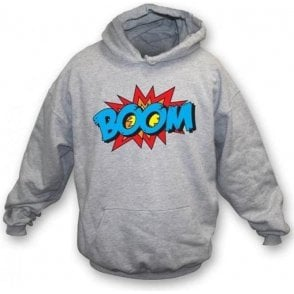 Boom Hooded Sweatshirt Grey