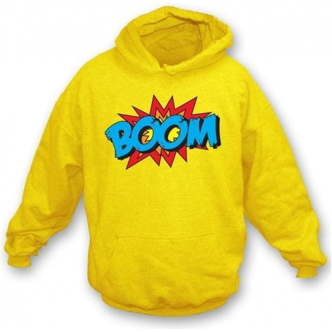 Boom Hooded Sweatshirt Lemon