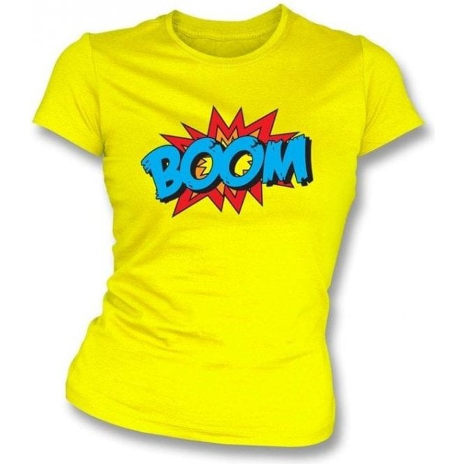 Boom Women's Slimfit T-shirt Lemon