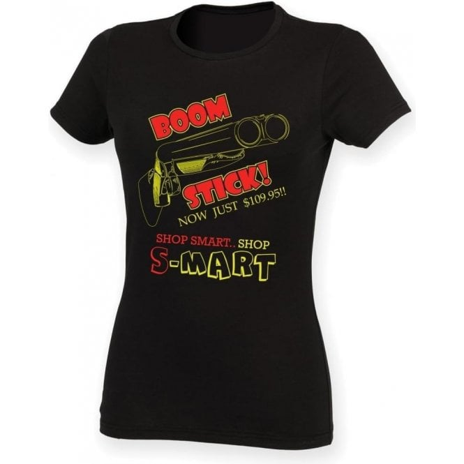 Boomstick (Inspired by Army of Darkness) Womens Slim Fit T-Shirt
