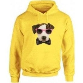 Bow Tie Dog Kids Hooded Sweatshirt