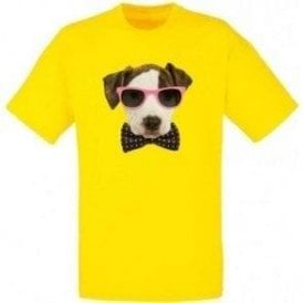 Bow Tie Dog Kids T-Shirt