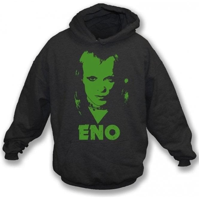 Brian Eno (70's Photo) Hooded Sweatshirt