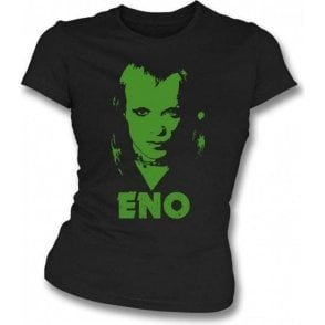Brian Eno (70's Photo) Womens Slim-Fit T-shirt