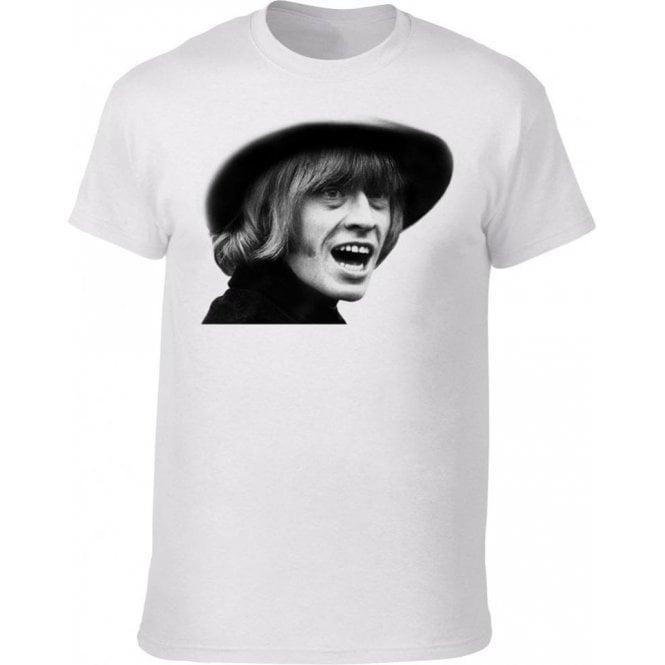 Brian Jones Face (As Worn By David Bowie) Kids T-Shirt