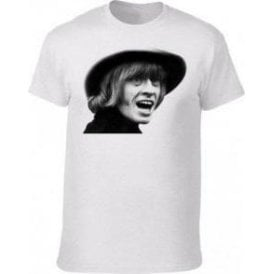 Brian Jones Face (As Worn By David Bowie) Kids T-Shirt