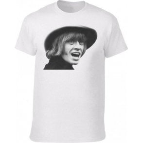 Brian Jones Face (As Worn By David Bowie) Vintage Wash T-Shirt