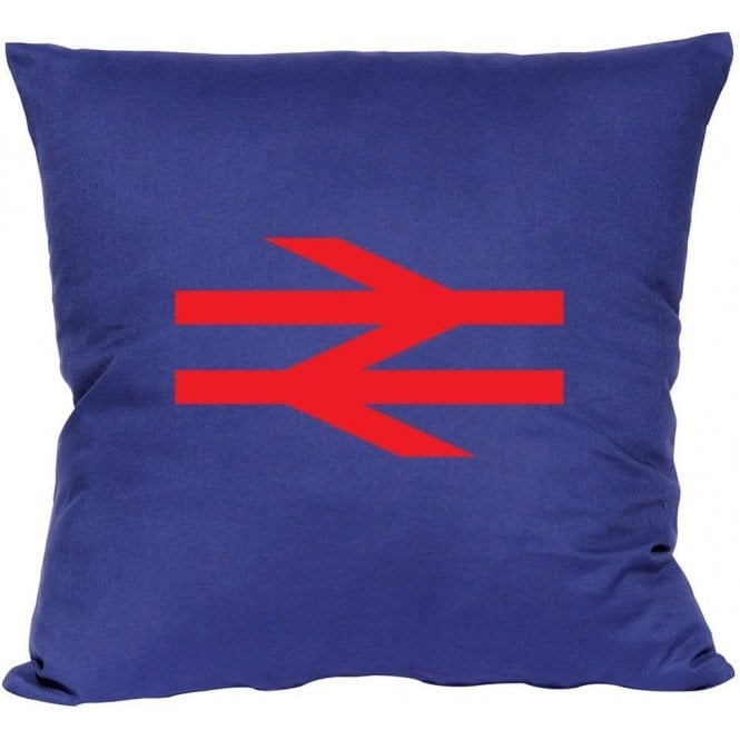 British Rail (As Worn By Damon Albarn, Blur/Gorillaz) Cushion