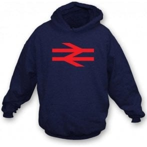 British Rail (As Worn By Damon Albarn, Blur/Gorillaz) Hooded Sweatshirt