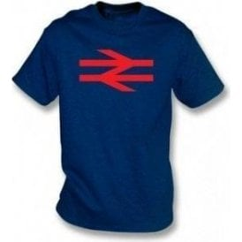 British Rail (As Worn By Damon Albarn, Blur/Gorillaz) Kids T-Shirt
