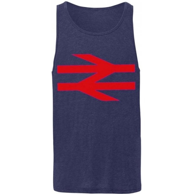 British Rail (As Worn By Damon Albarn, Blur/Gorillaz) Men's Tank Top