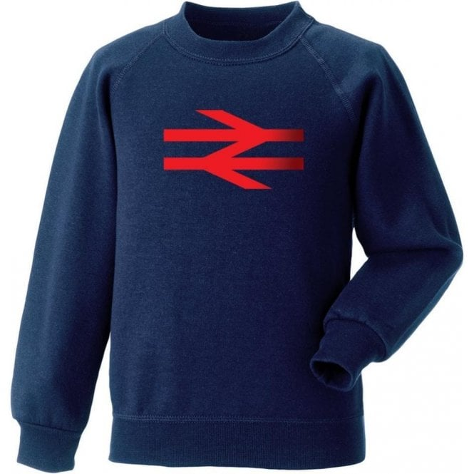 British Rail (As Worn By Damon Albarn, Blur/Gorillaz) Sweatshirt