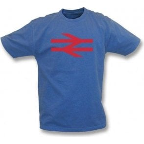 British Rail (As Worn By Damon Albarn, Blur/Gorillaz) Vintage Wash T-Shirt