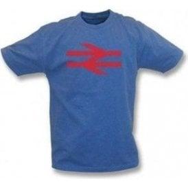 British Rail (As Worn By Damon Albarn, Blur/Gorillaz) Vintage Wash T-Shirt