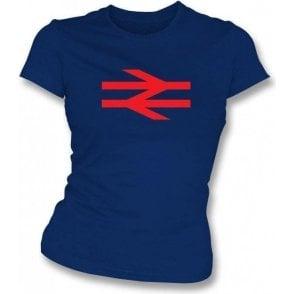 British Rail (As Worn By Damon Albarn, Blur/Gorillaz) Womens Slim Fit T-Shirt