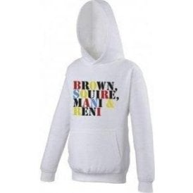 Brown Squire Mani & Reni (The Stone Roses) Hooded Sweatshirt