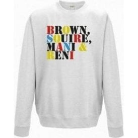 Brown Squire Mani & Reni (The Stone Roses) Sweatshirt