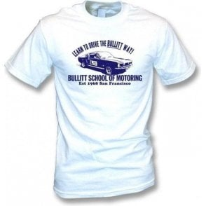 Bullitt School Of Motoring (Inspired by Bullitt) T-shirt