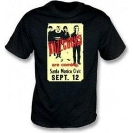 Buzzcocks 70's USA poster T-shirt