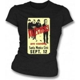 Buzzcocks 70's USA Poster Womens Slim-Fit T-shirt