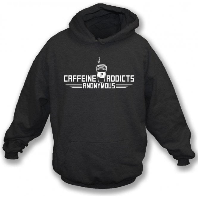 Caffeine Addicts Anonymous Kids Hooded Sweatshirt