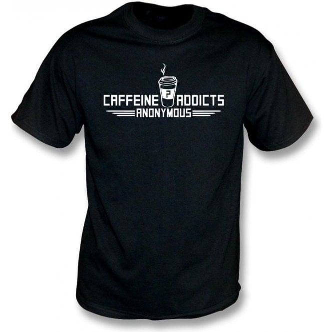 Caffeine Addicts Anonymous Kids T-Shirt