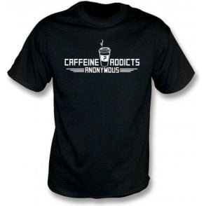 Caffeine Addicts Anonymous Kids T-Shirt