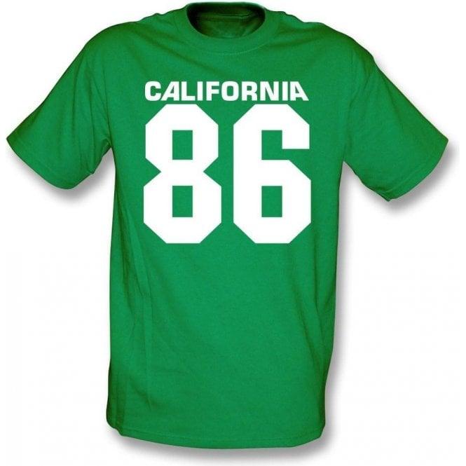 California 86 (As Worn By Damon Albarn, Blur/Gorillaz) T-Shirt